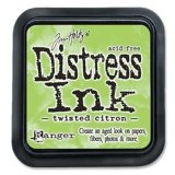 Polštářek Distress Ink Twisted Citron