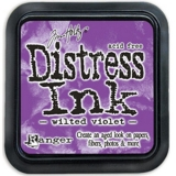 TIM43263/Polštářek Distress Ink Lucky Wilted violet