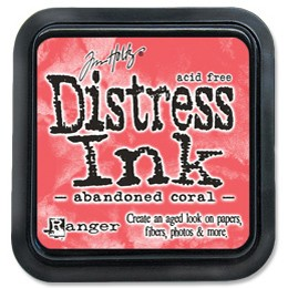 Ranger/TIM43188/Polštářek Distress Ink Abandoned Coral